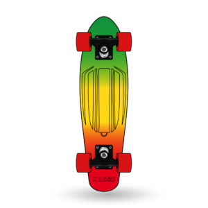 patineta cruiser Penny Polemic