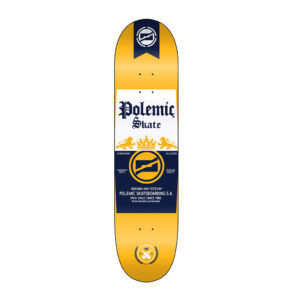 Tabla skate Polemic diseño corona