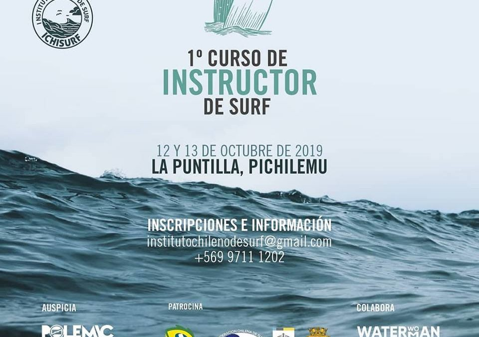 Curso de instructor de Surf en Pichilemu