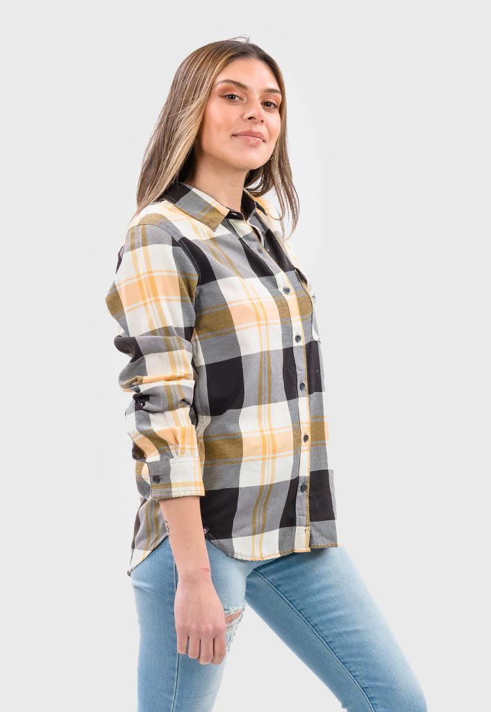 Blusa mujer cuadrille PW5748-C BEIGE